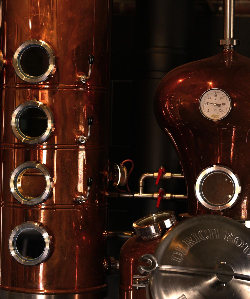 Distilleerderij de Bronckhorst Distilleerketel Achterhoek Ambacht Zelhem